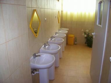 Węzeł sanitarny na kondygnacji