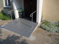 Ułatwienia dla wózków inwalidzkich